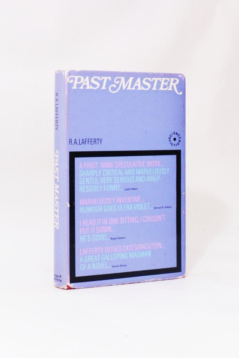 R.A. Lafferty - Past Master - Rapp & Whiting, 1968, Signed First Edition.