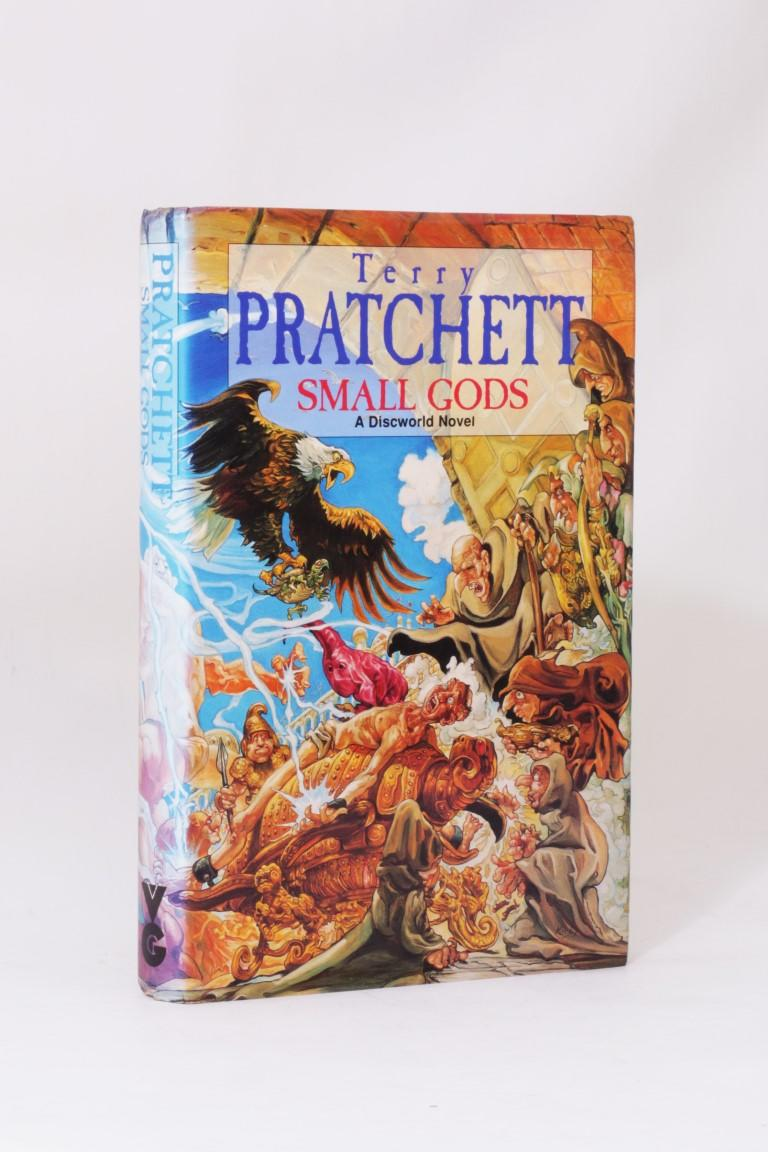 Terry Pratchett - Small Gods - Gollancz, 1992, Signed First Edition.