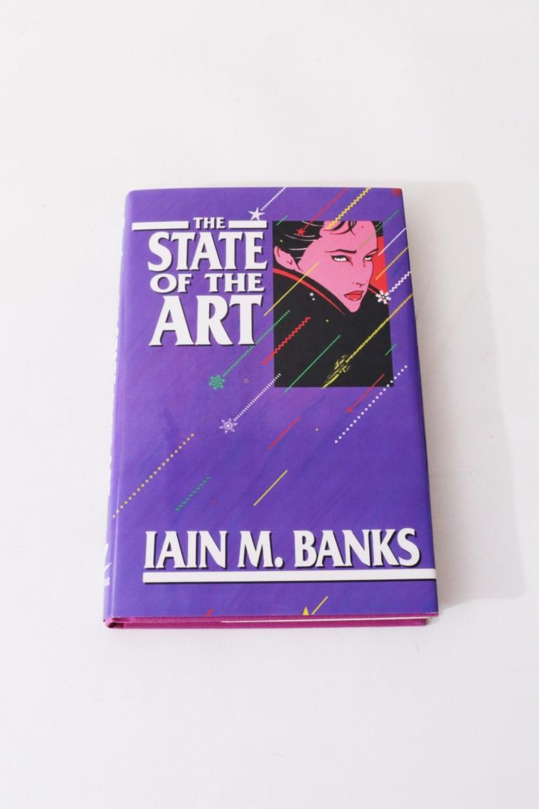 Iain M. Banks - The State of the Art - Mark V. Ziesing, 1989, Signed First Edition.