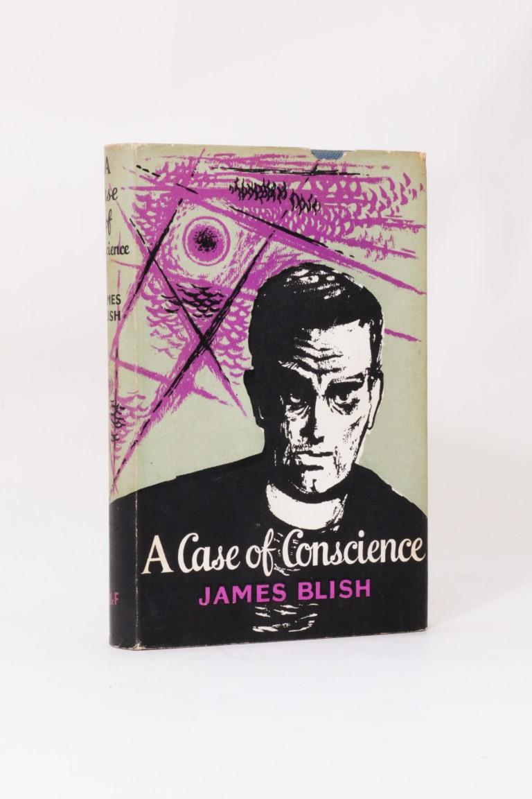 James Blish - A Case of Conscience - Faber, 1959, First Edition.