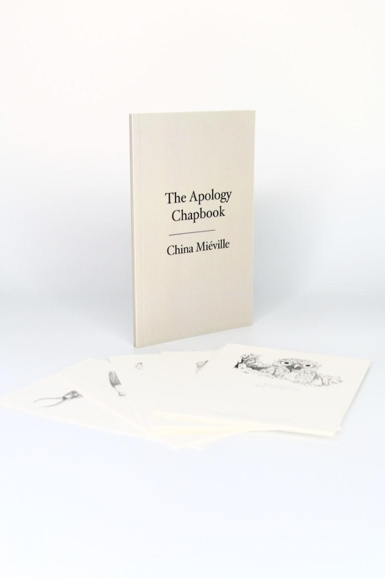 China Mieville - The Apology Chapbook w/ The Collection of Postcards - Privately Printed, 2013, First Edition.
