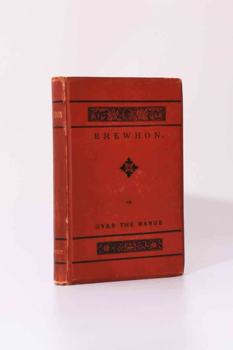 Samuel Butler - Erewhon - Trubner & Co., 1873, Signed Later Edition.