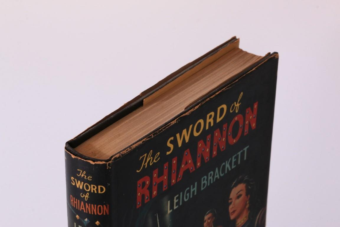 Leigh Brackett - The Sword of Rhiannon - Boardman, 1955, First Edition.