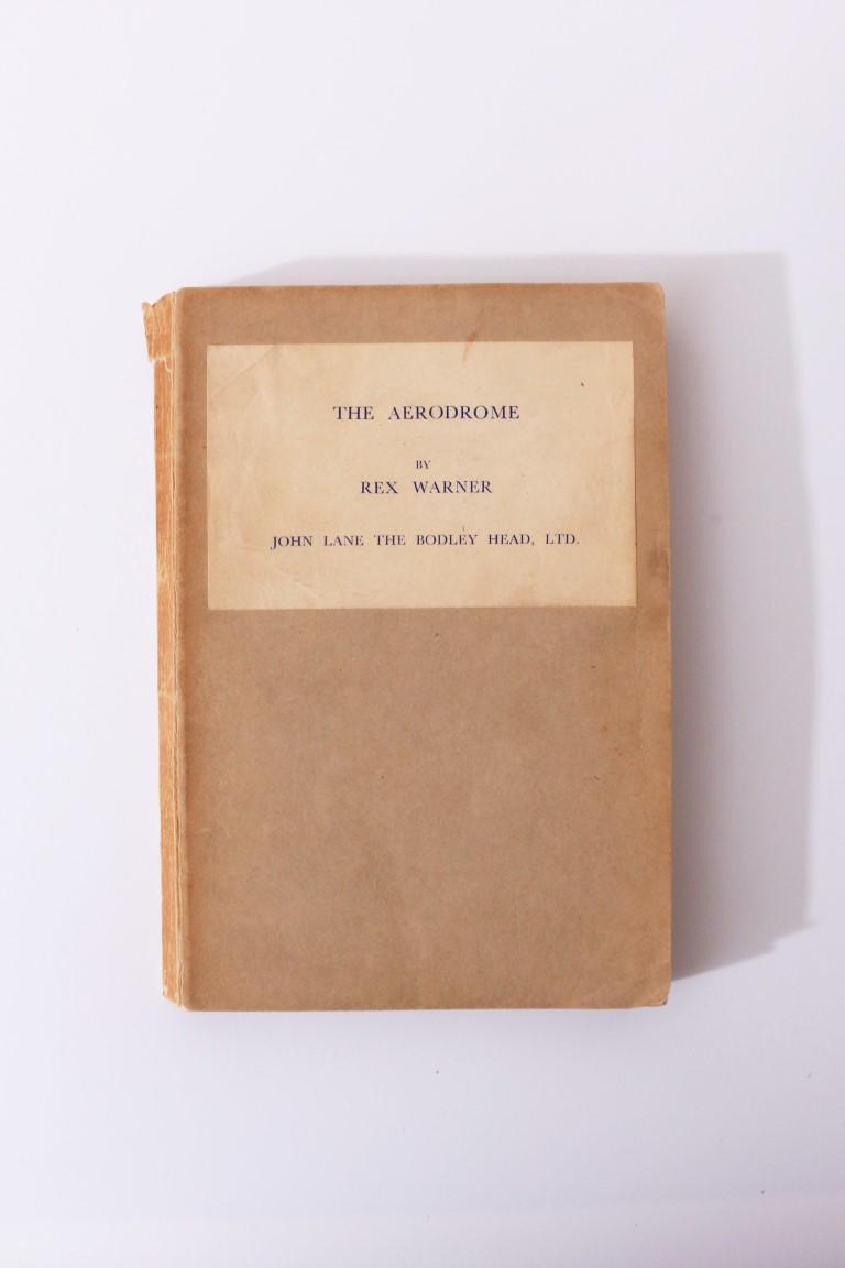 Rex Warner - The Aerodrome: A Love Story - John Lane / Bodley Head, 1941, Proof.