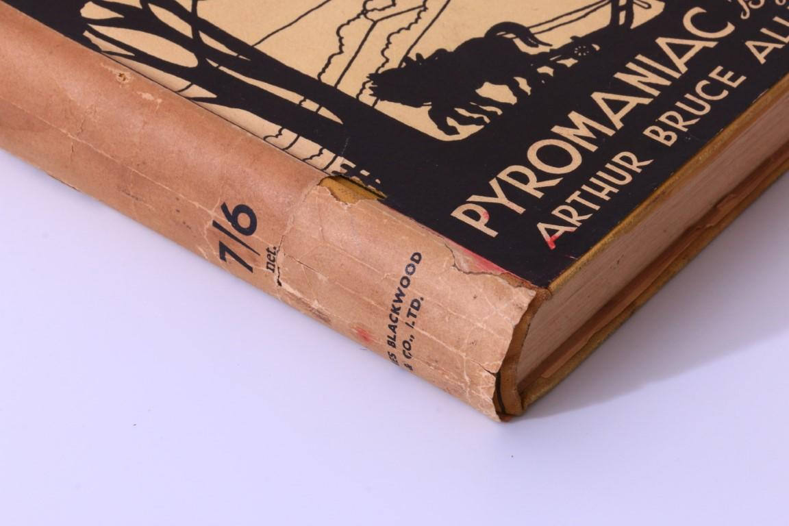 Arthur Bruce Allen - Pyromaniac - James Blackwood, n.d. [1938], First Edition.