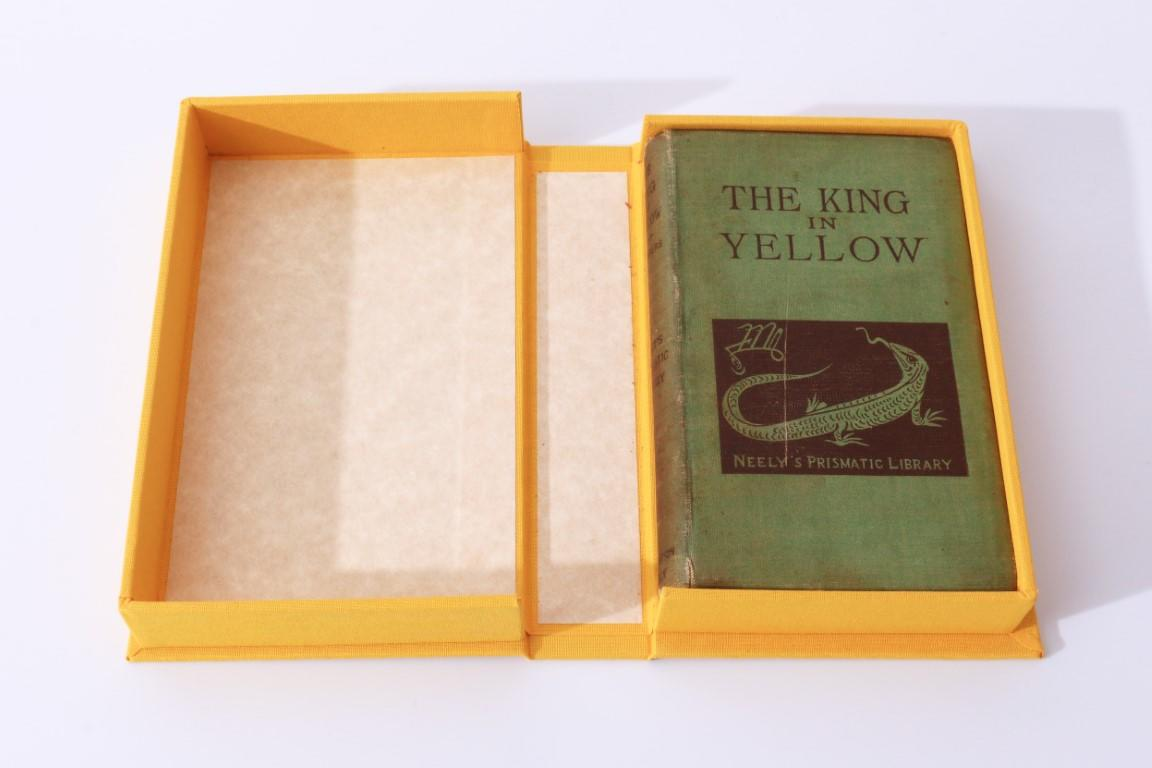 Robert W. Chambers - The King in Yellow - F. Tennyson Neely, 1895, Signed First Edition.