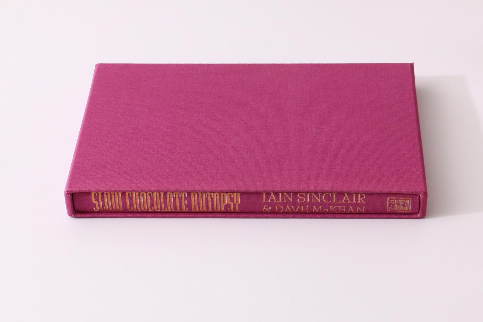 Iain Sinclair - Slow Chocolate Autopsy - Phoenix House, 1997, Signed Limited Edition.