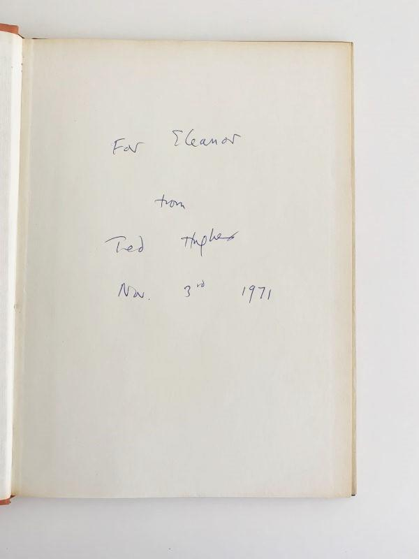 Ted Hughes - The Iron Man - Faber & Faber, 1968, First Edition.