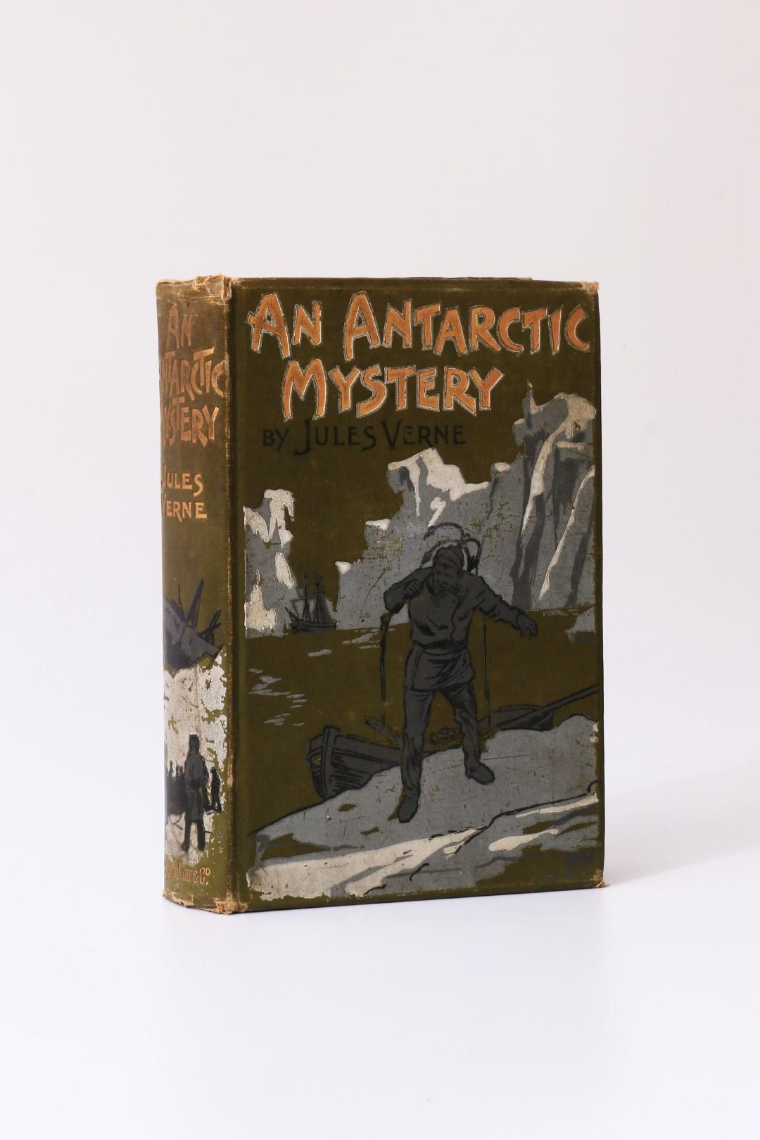 Jules Verne - An Antarctic Mystery - Sampson Low, Marston & Co., 1898, First Edition.