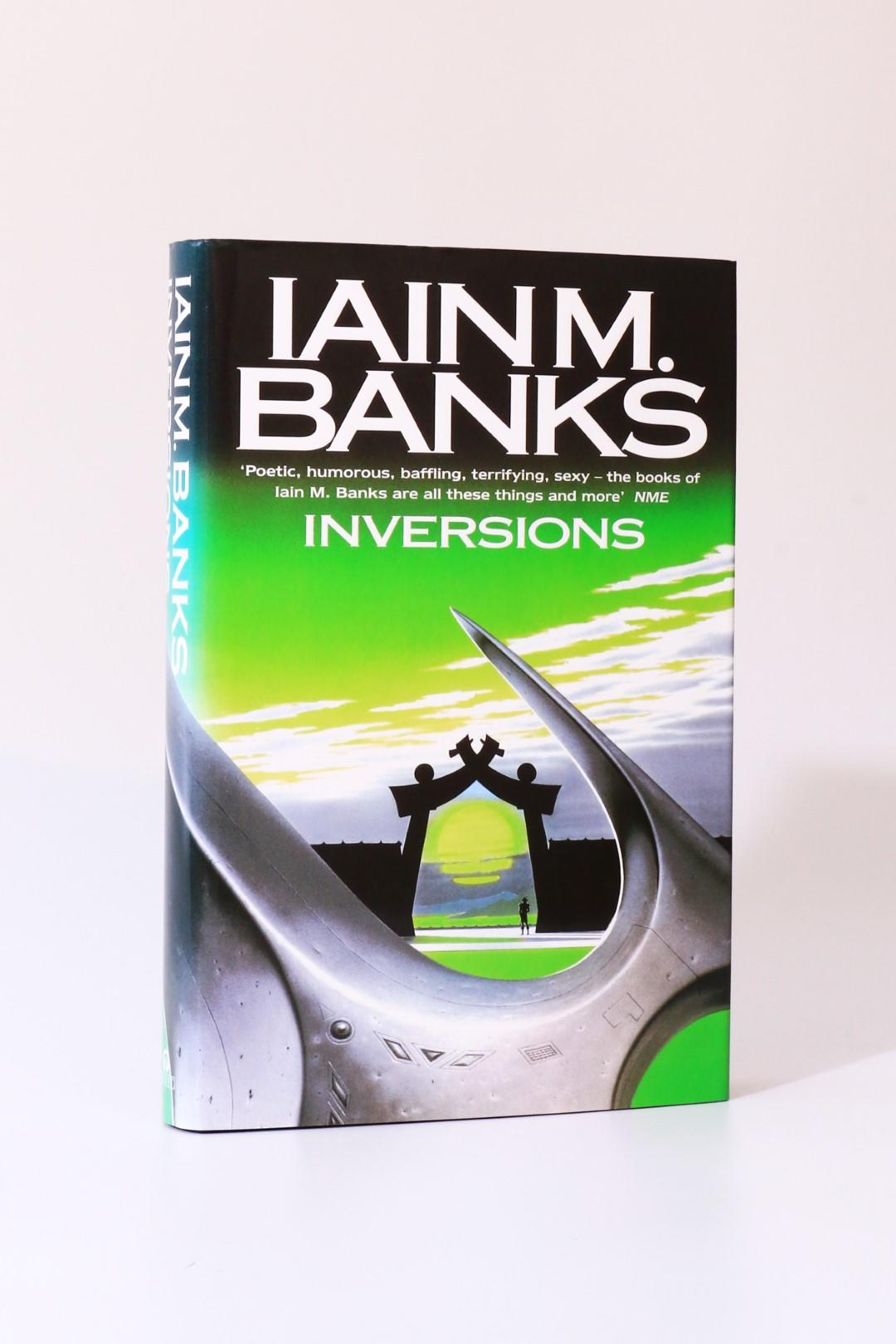Iain M. Banks - Inversions - Orbit, 1998, Signed First Edition.