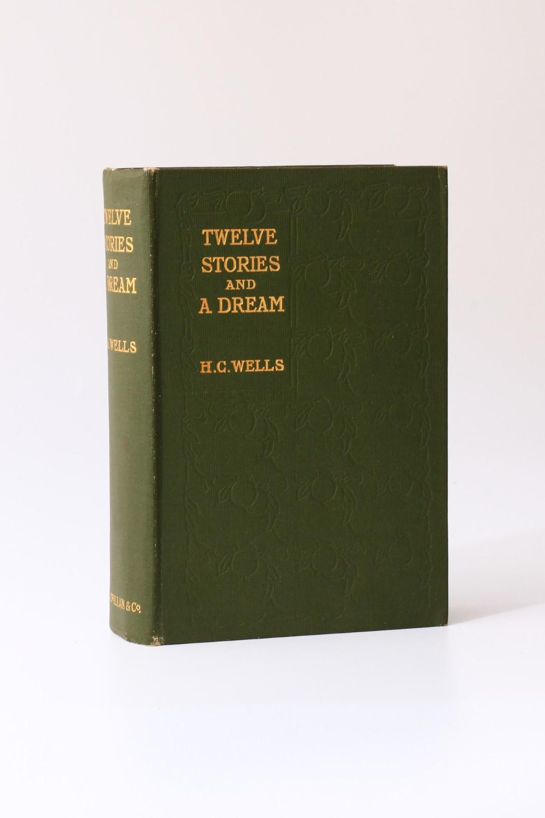 H.G. Wells - Twelve Stories and A Dream - MacMillan, 1903, First Edition.