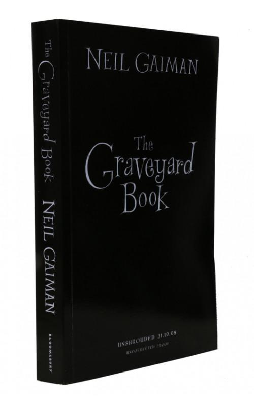 Neil Gaiman - The Graveyard Book	- Bloomsbury, 2008, UK Signed Proof Edition