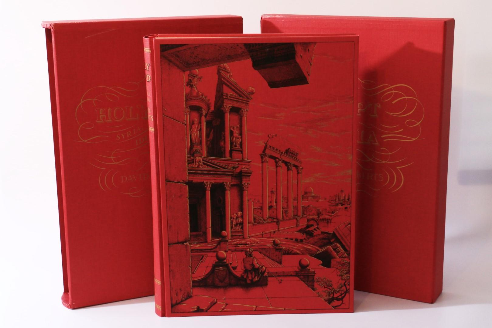 David Roberts - The Holy Land w/ Egypt and Nubia - Folio Society, 2010, Limited Edition.