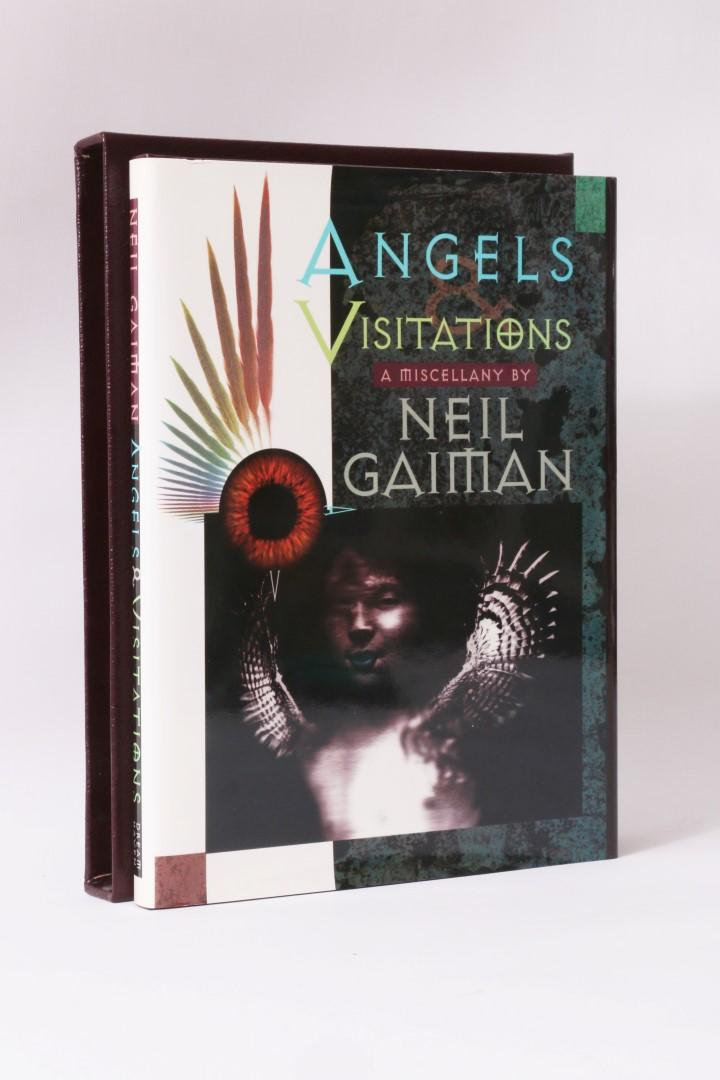 Neil Gaiman - Angels & Visitations - DreamHaven, 1993, Limited Edition.  Signed