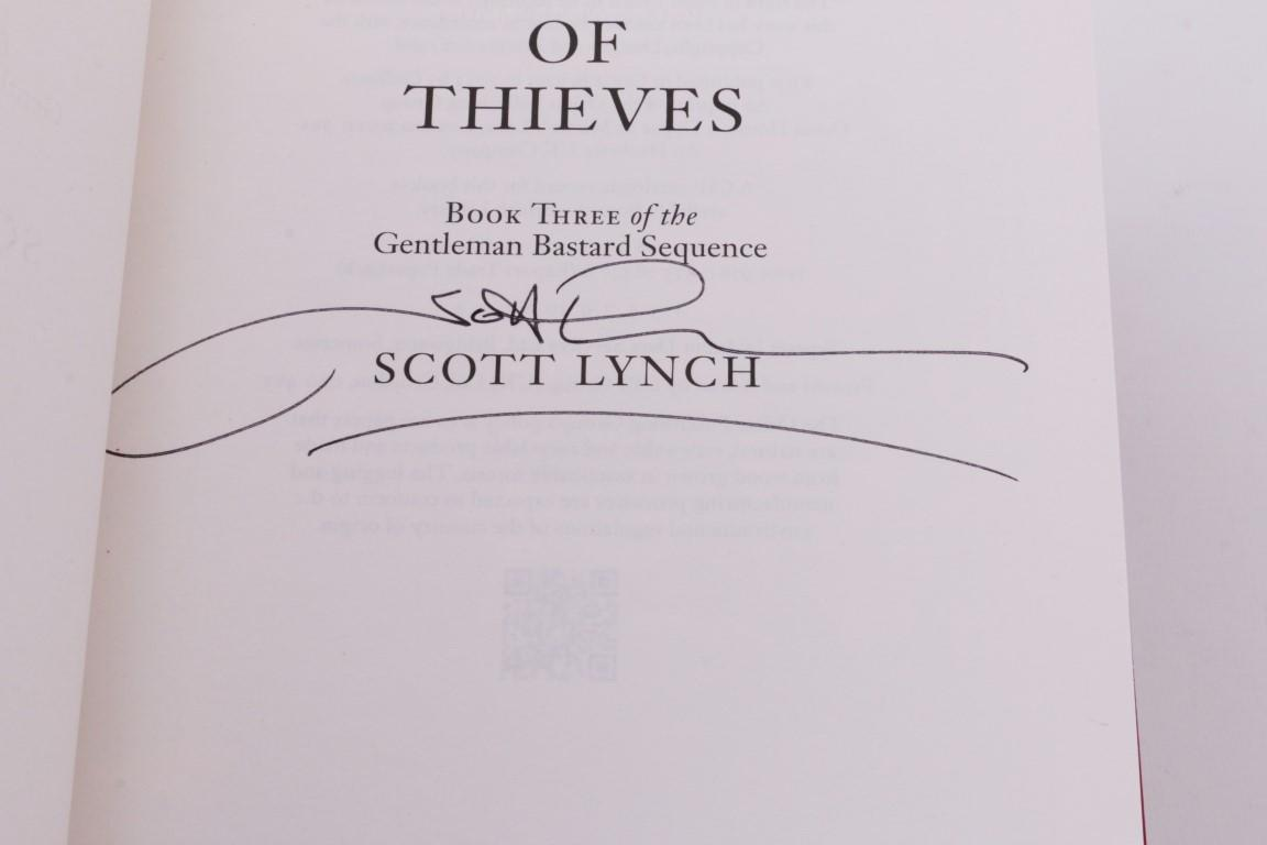 Scott Lynch - Gentleman Bastard Series: Lies Locke Lamora, etc. - Gollancz, 2006-2013, Signed First Edition.