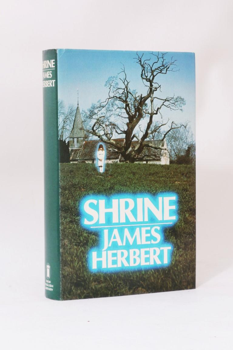 James Herbert - Shrine - New English Library (NEL), 1983, First Edition.  Signed