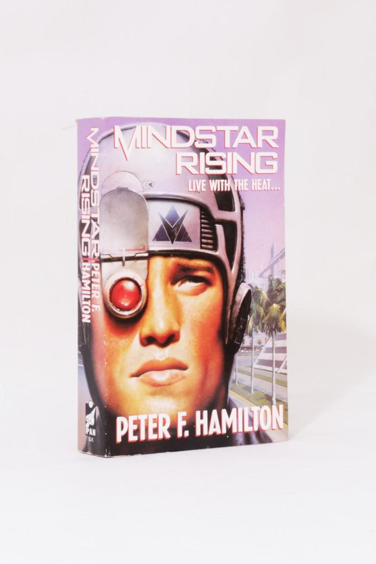 Peter F. Hamilton - Mindstar Rising - Pan, 1993, Signed First Edition.