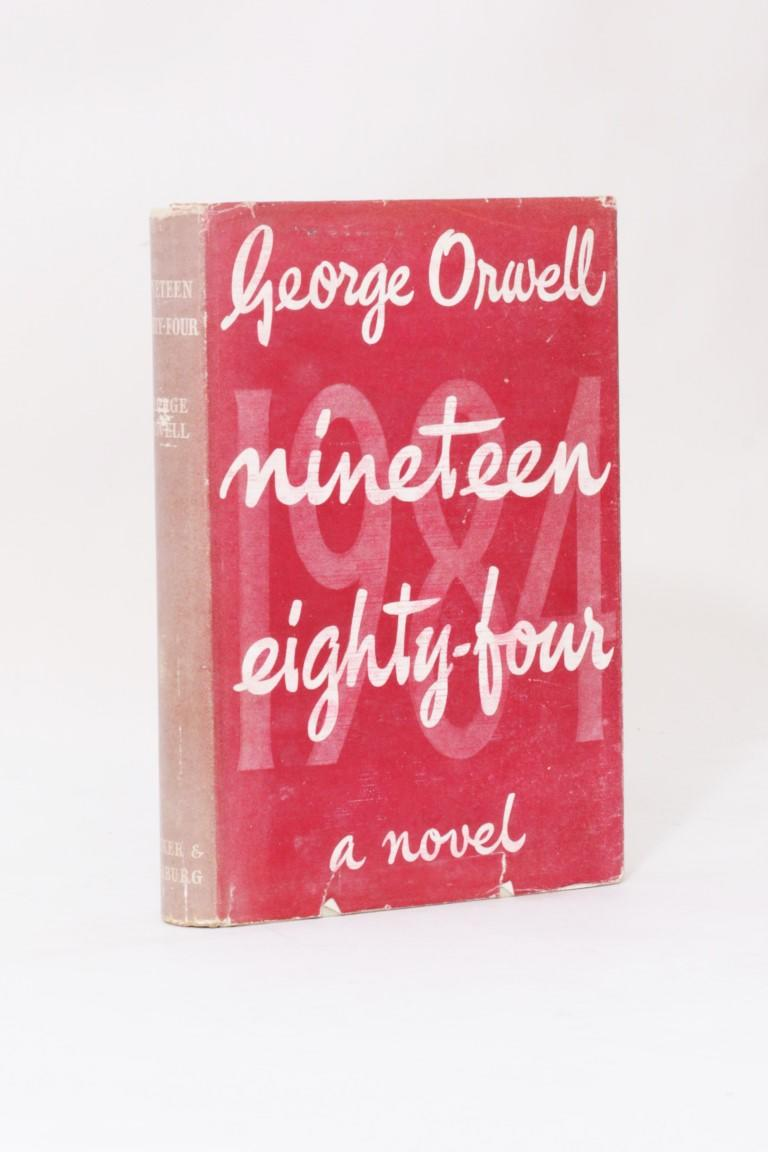 George Orwell - Nineteen Eighty-Four - Secker & Warburg, 1949, First Edition.