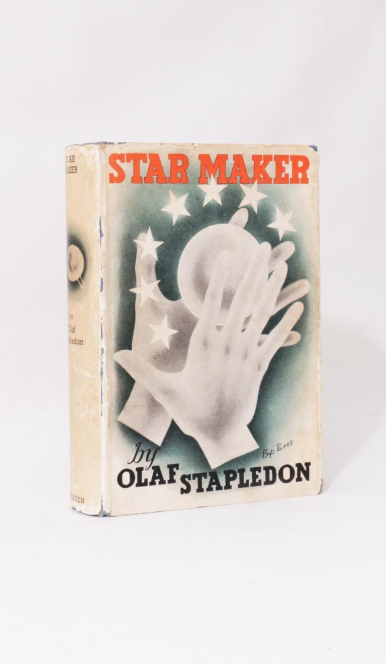 Olaf Stapledon - Star Maker - Methuen, 1937, First Edition.