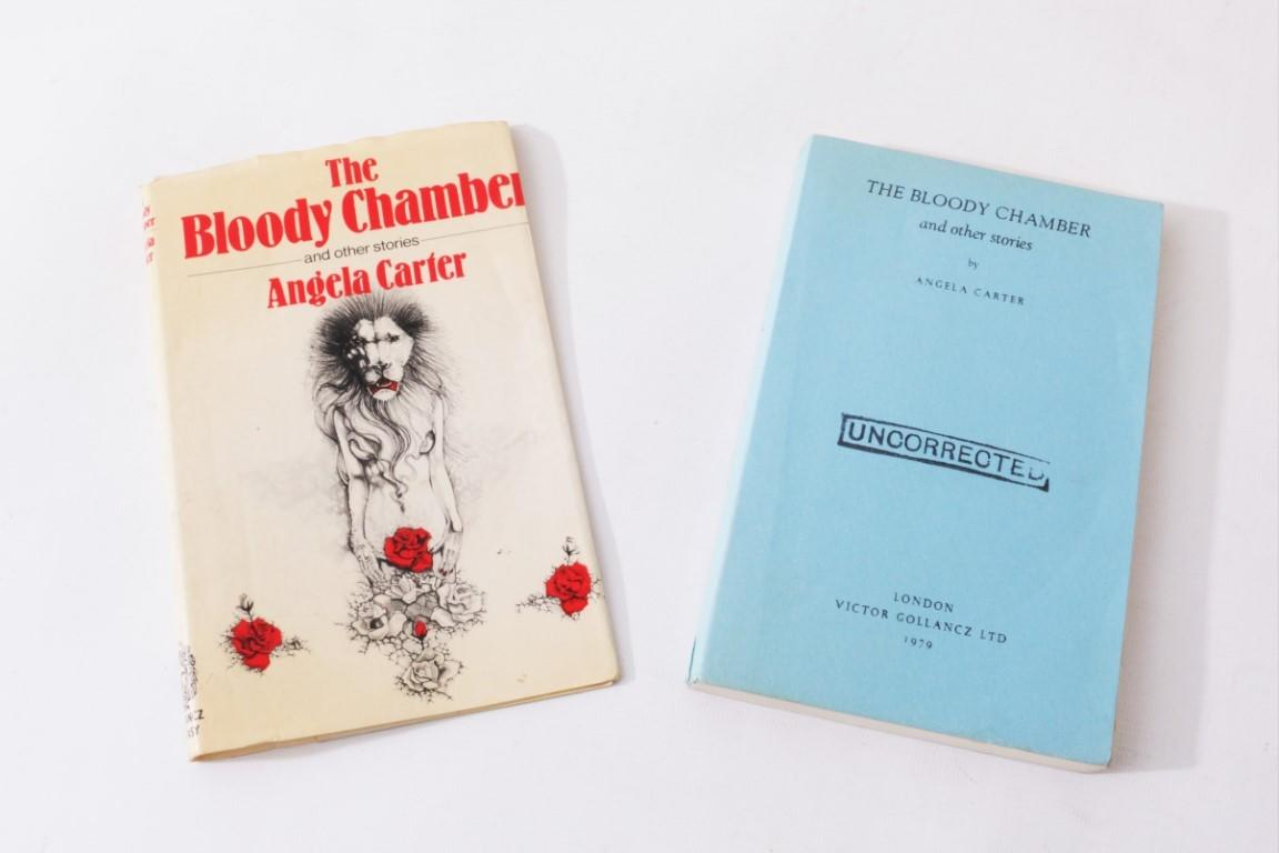 Angela Carter - The Bloody Chamber and Other Adult Tales - Gollancz, 1979, Proof.