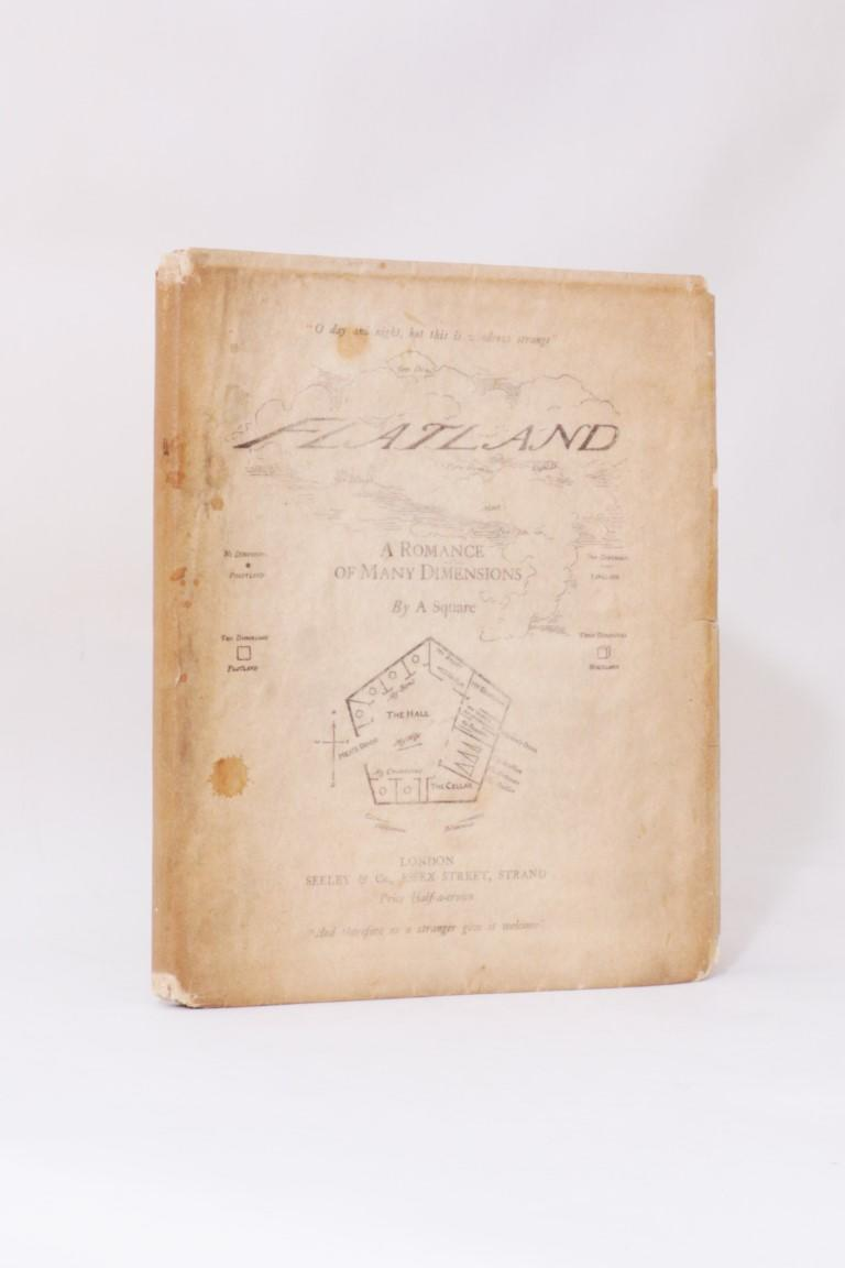 A Square [Edwin A. Abbott] - Flatland - Seeley & Co., 1884, First Edition.