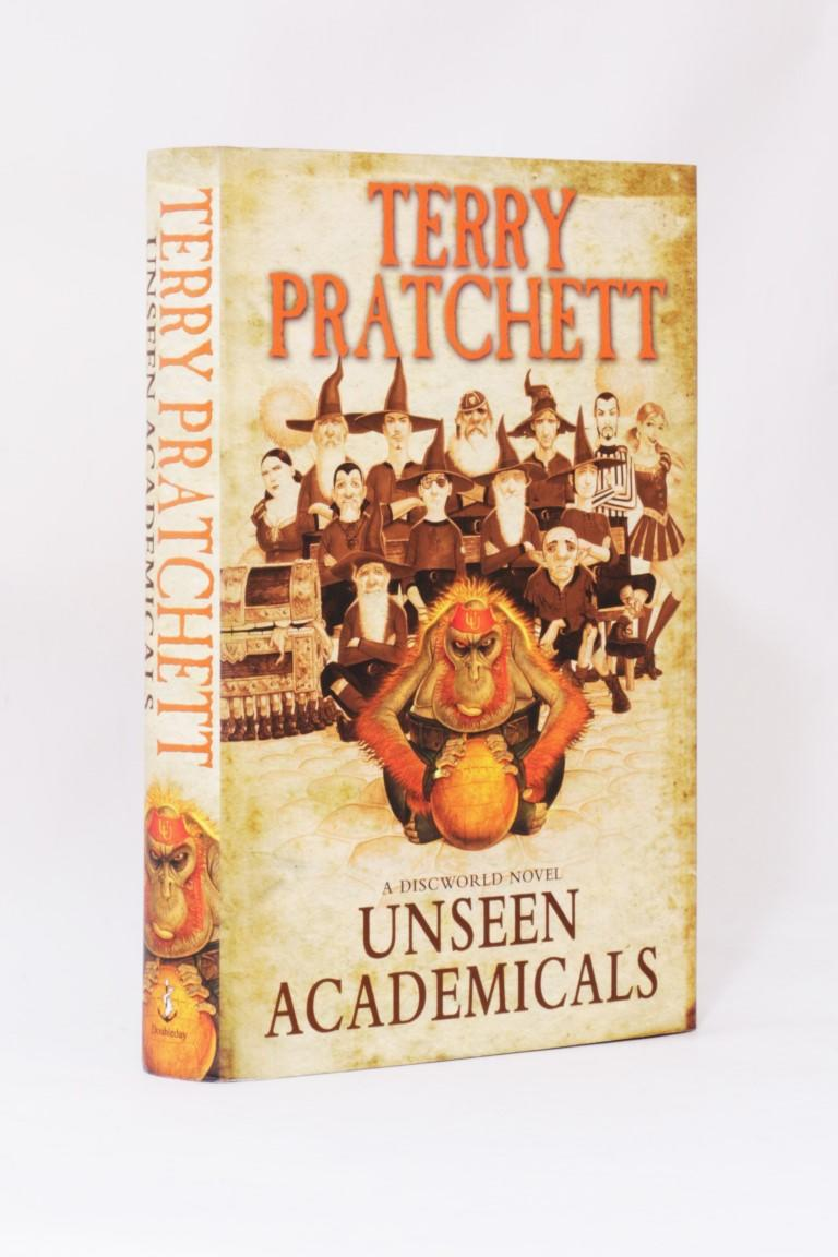 Terry Pratchett - Unseen Academicals - Doubleday, 2009, First Edition.