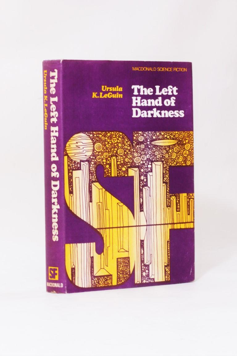 Ursula K. Le Guin - The Left Hand of Darkness - Macdonald, 1969, Signed First Edition.