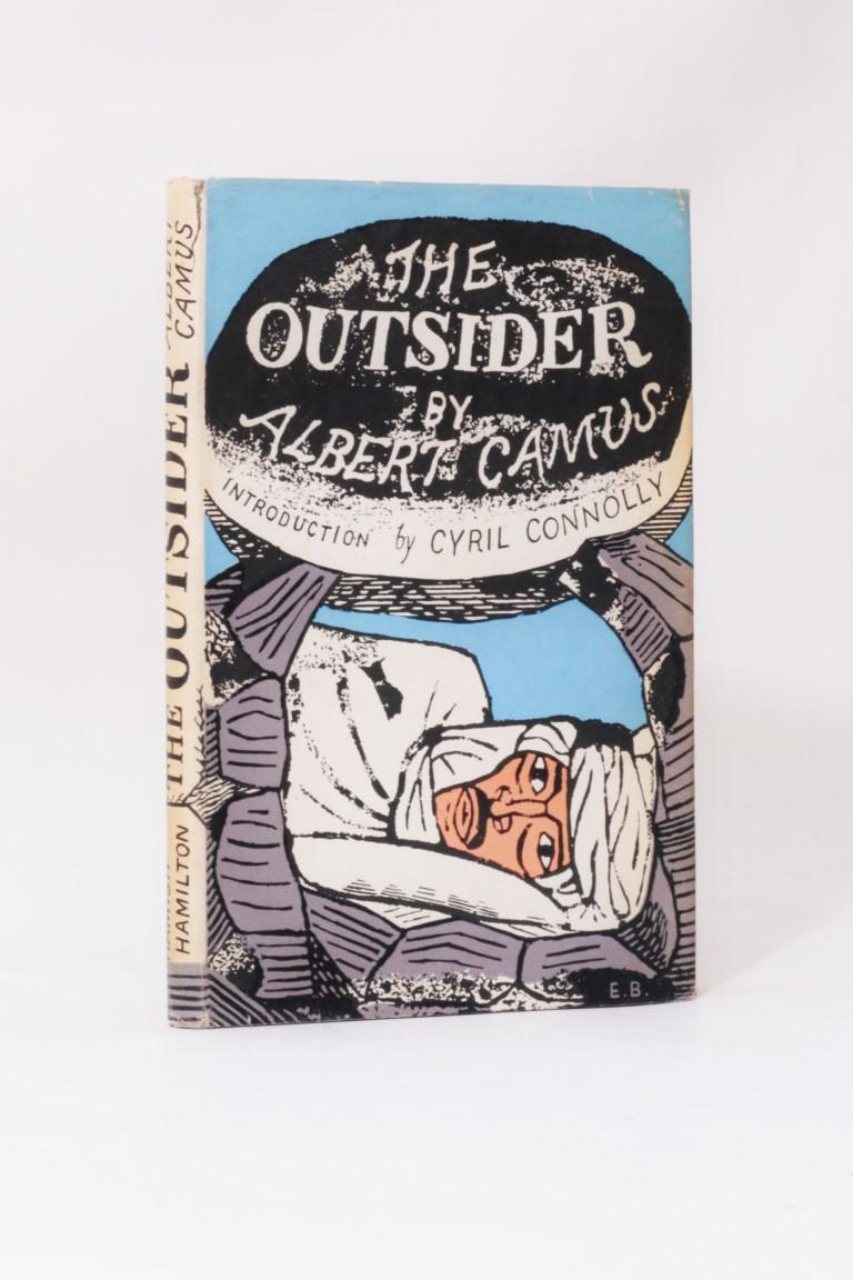 Albert Camus - The Outsider - Hamish Hamilton, 1946, First Edition.