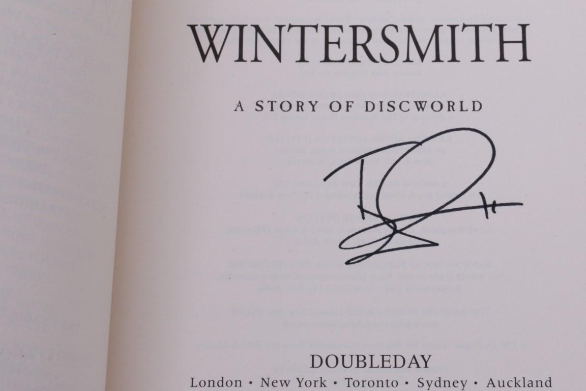 Terry Pratchett - Wintersmith - Doubleday, 2006, Signed First Edition.