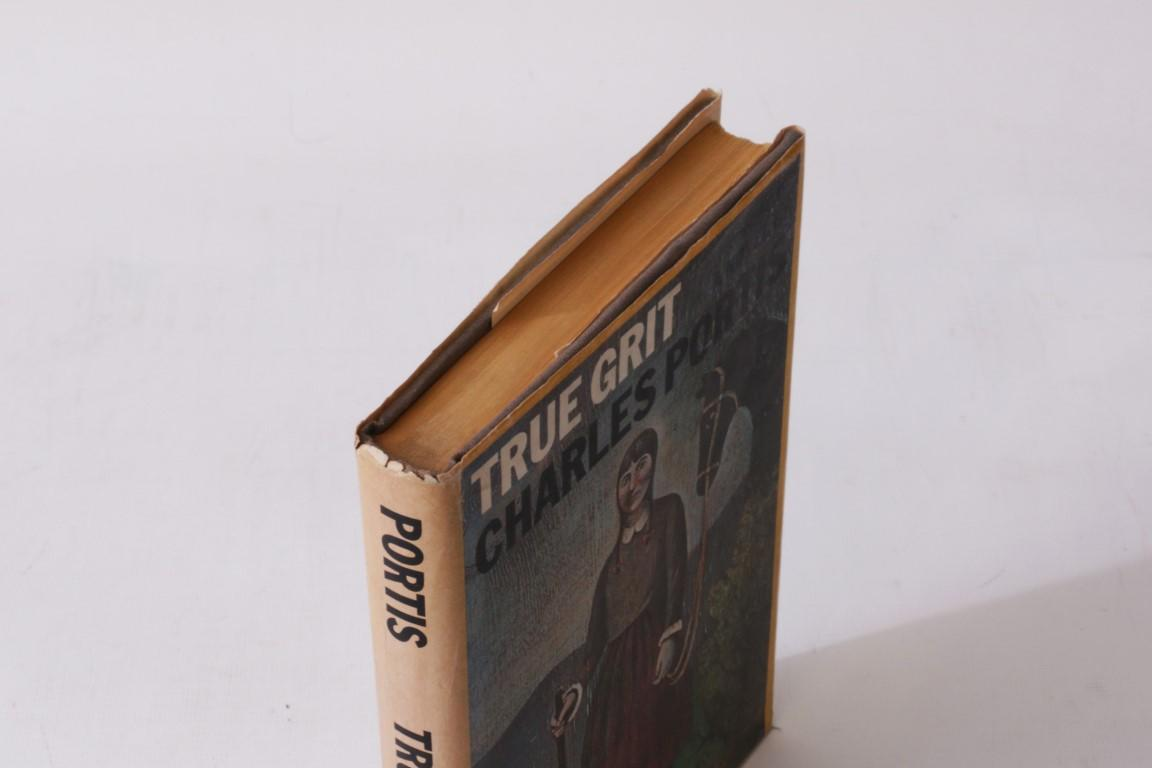 Charles Portis - True Grit - Simon & Schuster, 1968, First Edition.