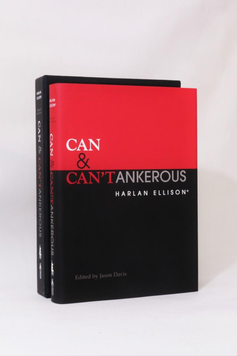 Harlan Ellison - Can & Can'tankerous - Edgeworks Abbey / Subterranean Press, 2015, Signed Limited Edition.