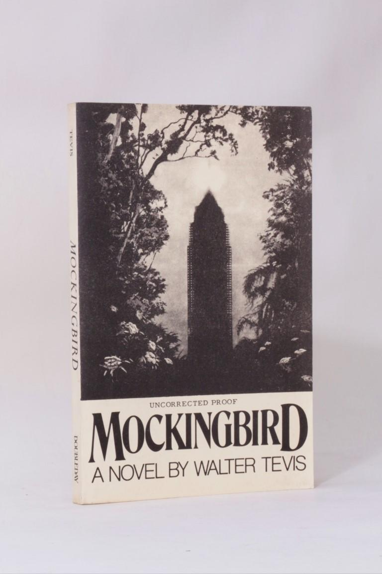 Walter Tevis - Mockingbird - Doubleday, 1980 [1979], Proof. Signed