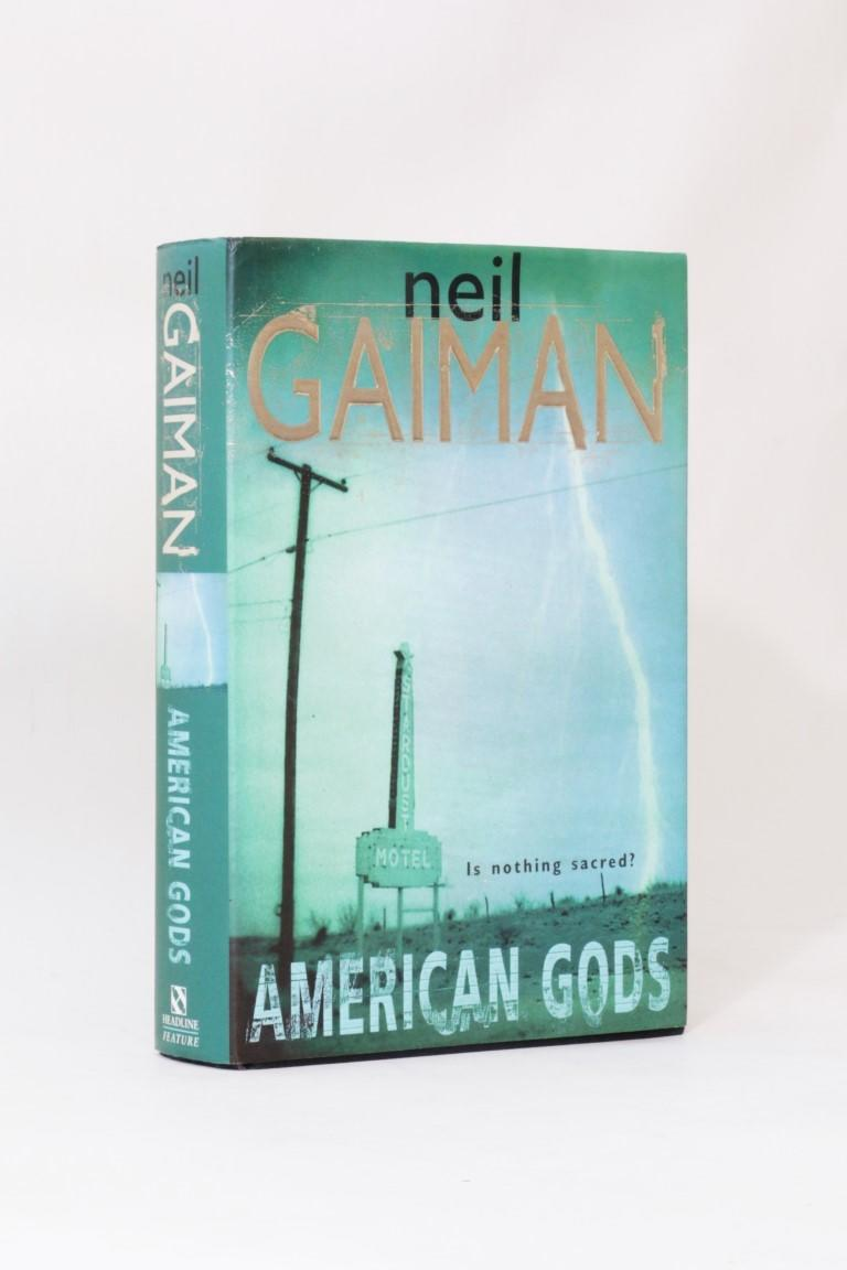 Neil Gaiman - American Gods - Headline Feature, 2001, First Edition.