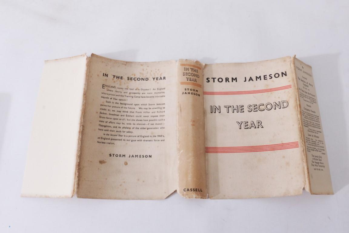 Storm Jameson - In the Second Year - Cassell, 1936, Signed First Edition.