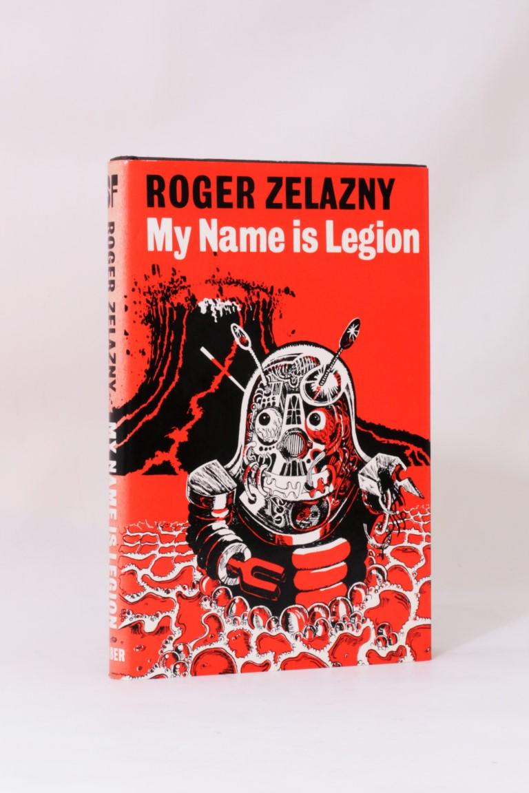 Roger Zelazny - My Name is Legion - Faber, 1979, First Edition.