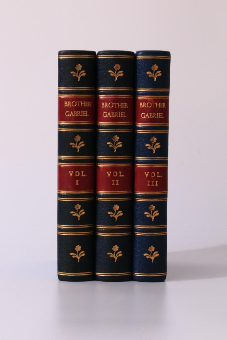 M[atilda] Betham-Edwards - Brother Gabriel - Hurst and Blackett, 1878, First Edition.