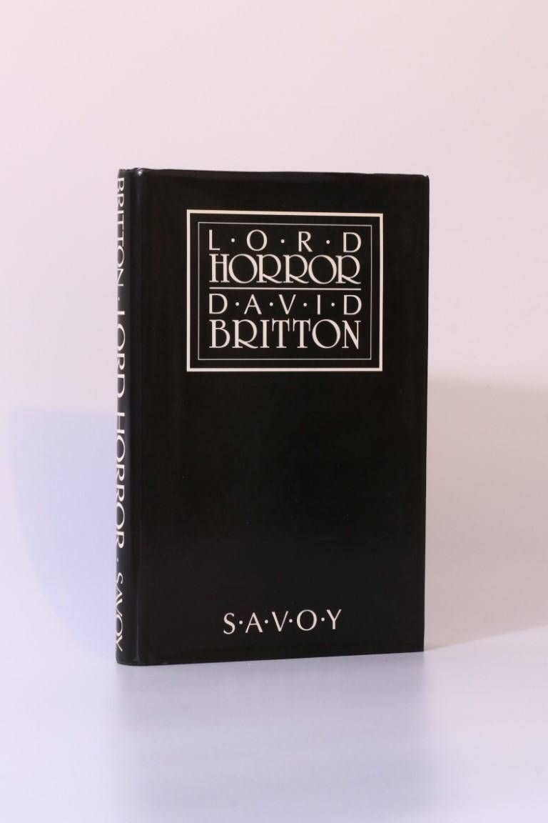 David Britton - Lord Horror - Savoy, 1990, First Edition.