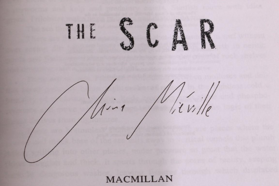China Mieville - The Scar - Macmillan, 2002, Proof.