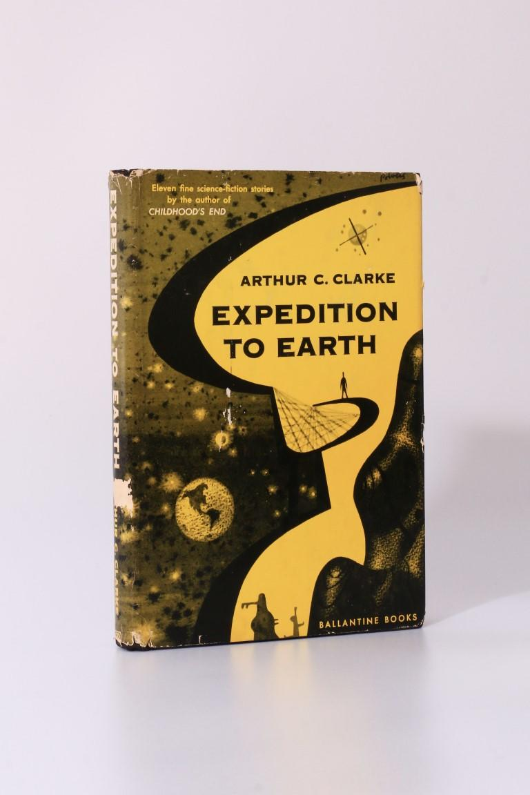 Arthur C. Clarke - Expedition to Earth - Ballantine Books, 1953, First Edition.