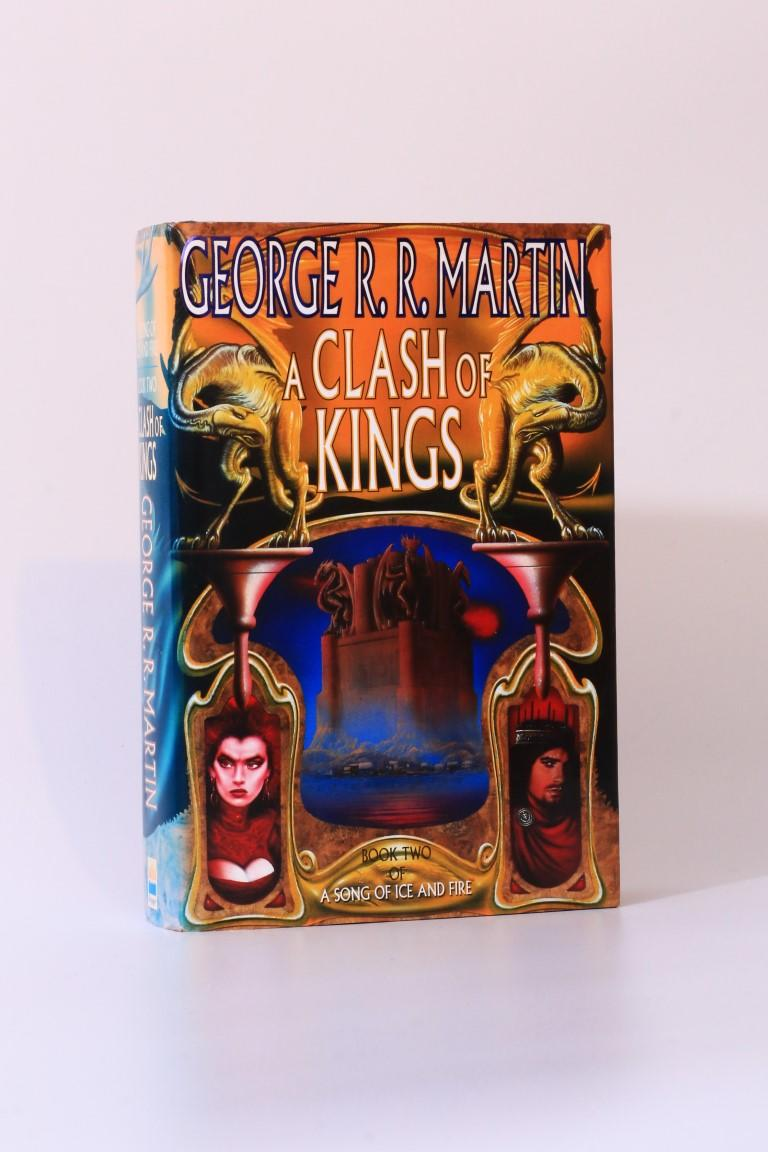 George R.R. Martin - A Clash of Kings - Voyager, 1998, First Edition.