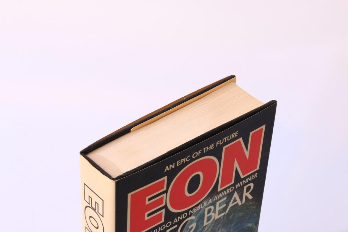 Greg Bear - Eon - Bluejay Books, 1985, First Edition.