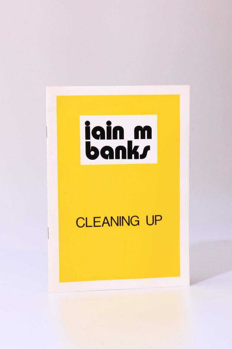 Iain M. Banks - Cleaning Up - Birmingham Science Fiction Group, 1987, Limited Edition.