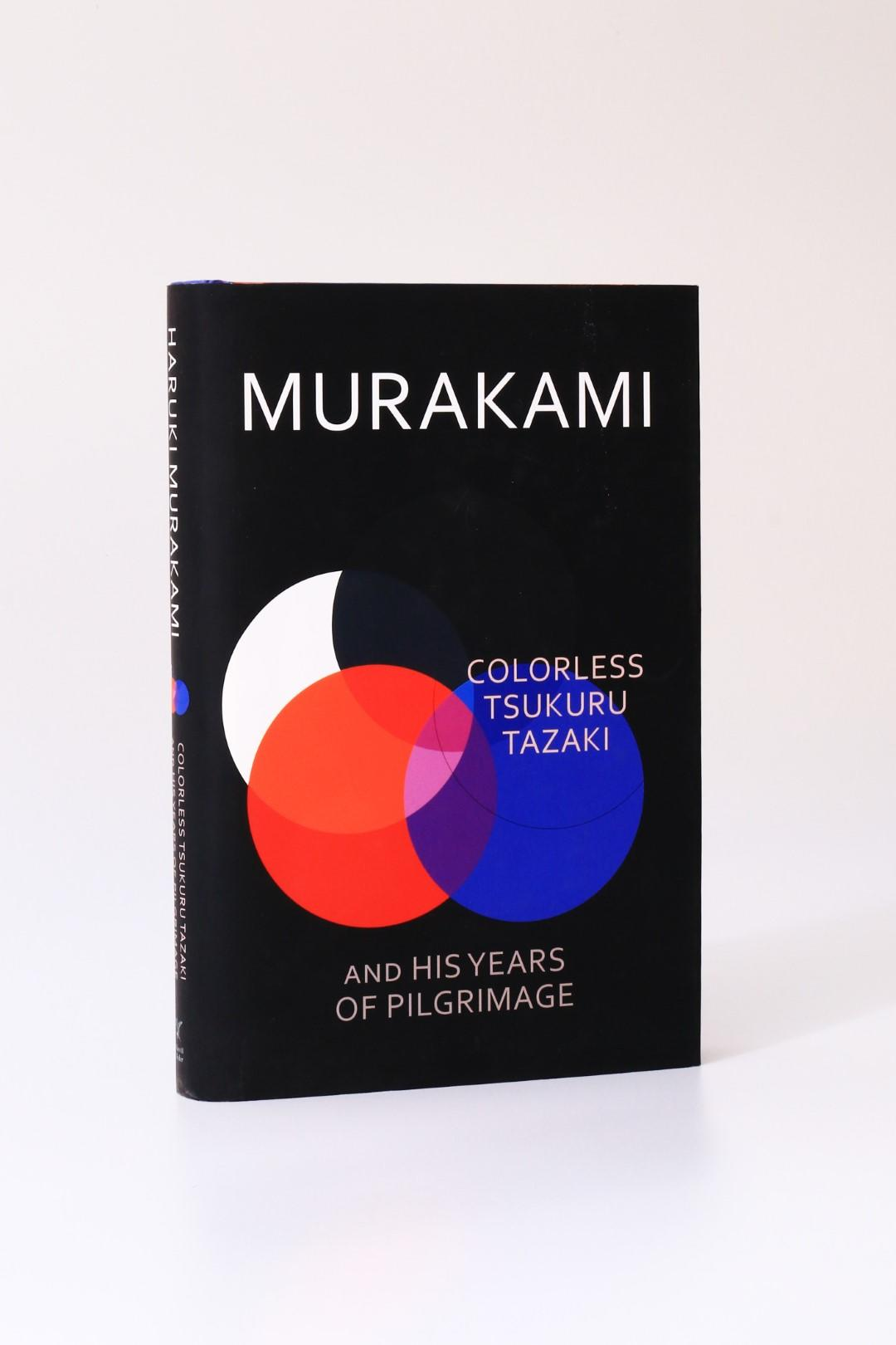 Haruki Murakami - Colorless Tsukuru Tazaki and his Years of Pilgrimage - Harvill Secker, 2014, Signed First Edition.