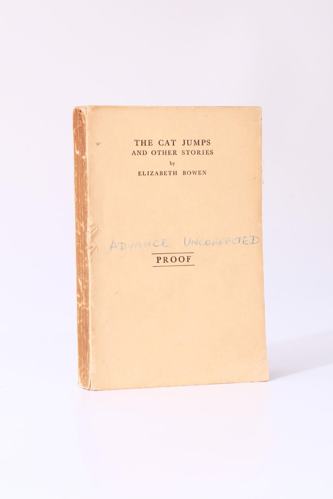 Elizabeth Bowen - The Cat Jumps and Other Stories - Gollancz, 1934, Proof.