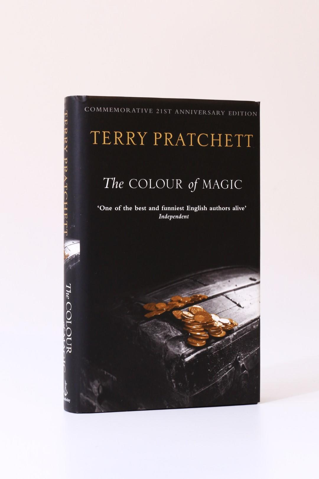 Terry Pratchett - The Colour of Magic: Commemorative 21st Anniversary Edition - Doubleday, 2004, First Thus. Signed