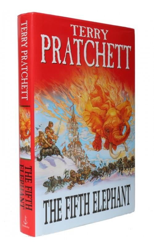 Terry Pratchett - The Fifth Elephant - Doubleday, 1999, UK Signed First Edition