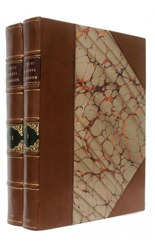 James Boswell - Life of Samuel Johnson - Henry Baldwin, 1791, UK First Edition