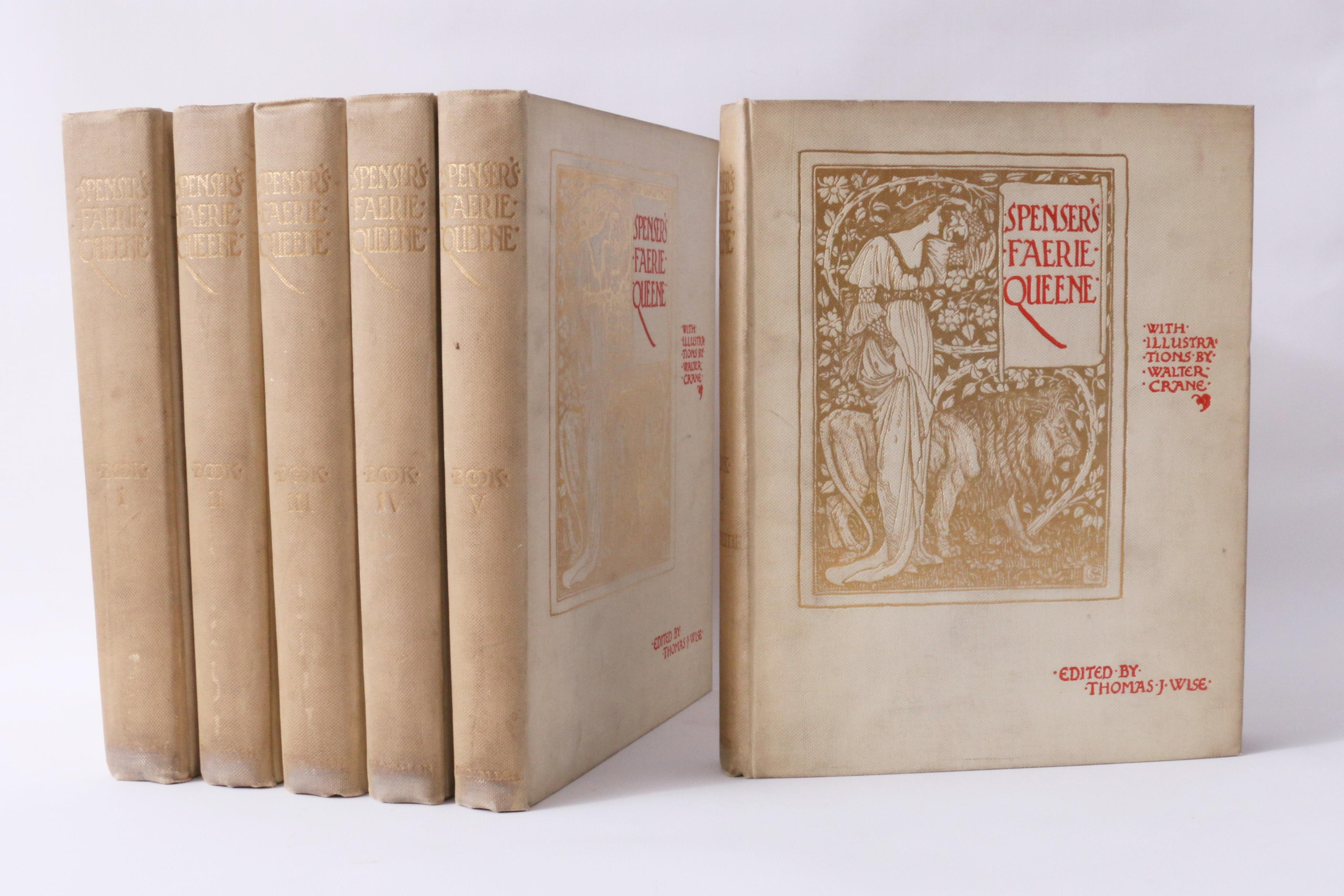 Edmund Spenser - Spenser's Faerie Queene - George Allen, 1897, First Thus.