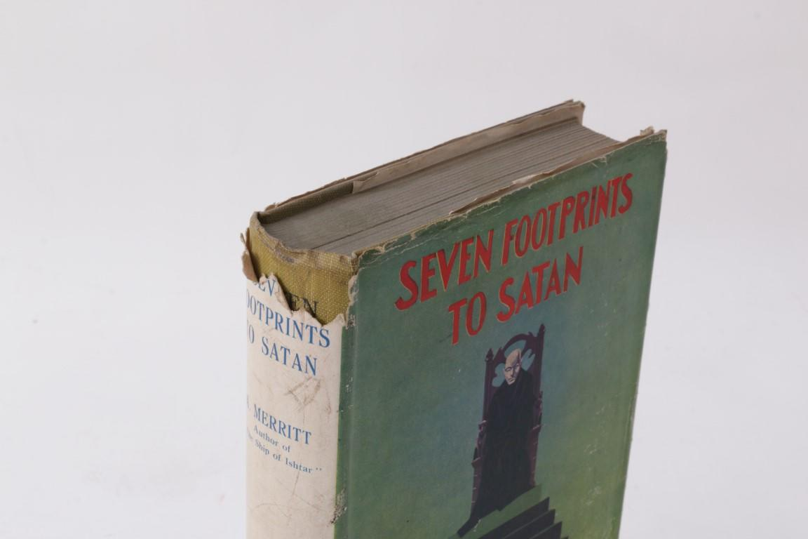 A. Merritt - Seven Footprints to Satan - The Richards Press, n.d. [1928], First Edition.