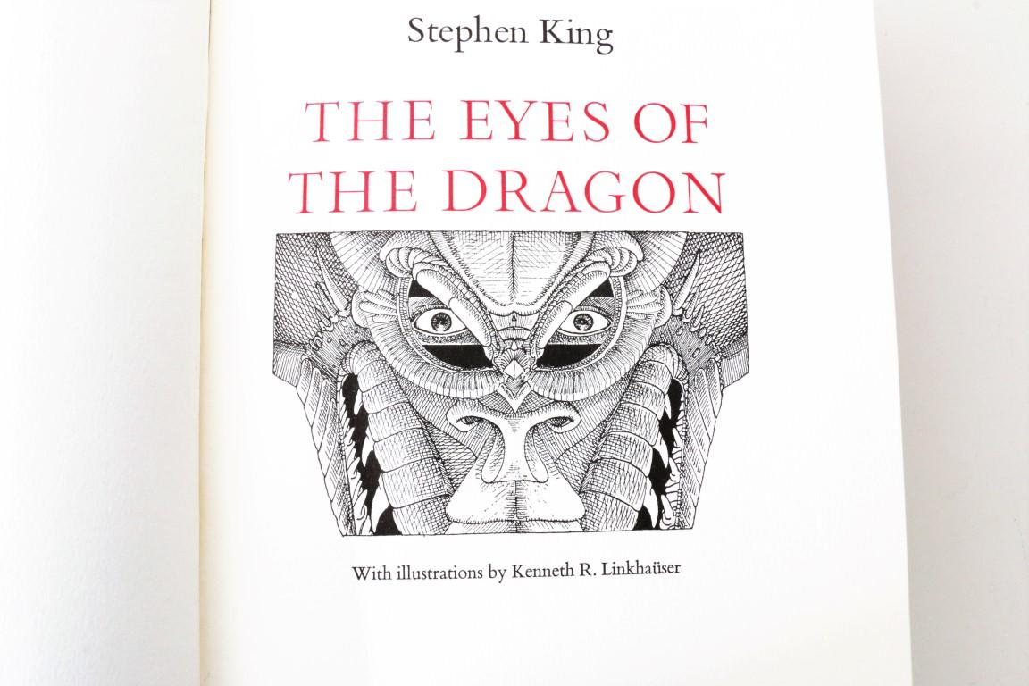 Stephen King - The Eyes of the Dragon - Philtrum Press, 1984, Limited Edition.  Signed